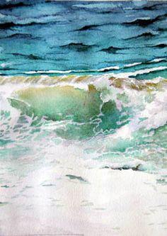Rebecca Rivers, watercolor