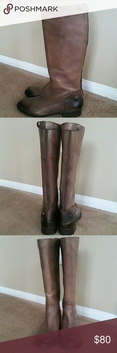 Spotted while shopping on Poshmark: Beautiful leather boots! #poshmark #fashion #shopping #style #Arturo Chiang #Shoes