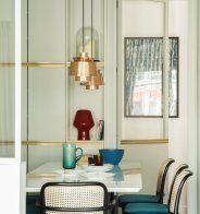 Une salle à manger vintage à l'ambiance pop - Marie Claire Maison