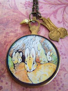 Peter Rabbit Necklace $28