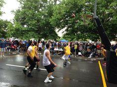 Twitter / SpokaneHoopfest: Rain or shine. Play continues. ...