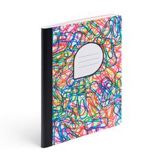 Confetti Composition Book with Ruled Pages - Cool Office Supplies   Poppin