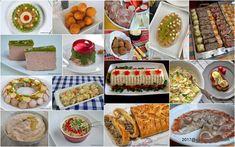 Aperitive festive pentru Sarbatori - retete explicate pas cu pas. Retete de aperitive pentru Craciun si Anul Nou (Revelion). Ce aperitive traditionale