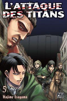 L'attaque des Titans - 5 - Hajime Isayama
