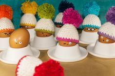 Egg gezellige haak - Pudelmütze BigBommel
