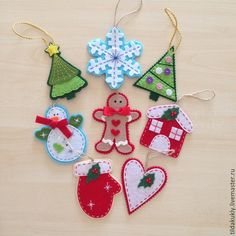 Felt Christmas Crafts