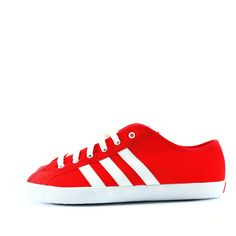 Adidas San Remo Original Limited Edition Canvas Mens Shoes RedWhite