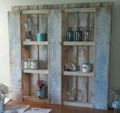 Pallet shelf.
