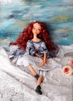 Купить Ребека. Авторская будуарная куколка. - комбинированный, авторская ручная работа, авторская кукла, винтаж