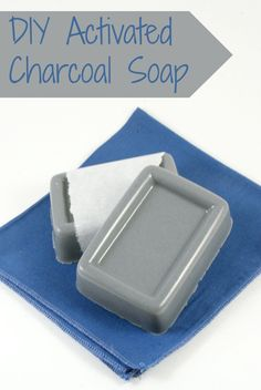 This is how to make homemade activated charcoal soap with a melt and pour base. The activated charcoal absorbs toxins, stains, bacteria and more.