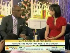 """Grace Lin talks with Al Roker about her book """"Where the Mountain Meets the Moon"""""""