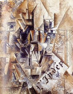 Pablo Picasso - Still Life with Fan, 1911 Picasso Still Life, Pablo Picasso Cubism, Cubist Art, Cubist Movement, Most Famous Artists, Guernica, Post Impressionism, Oil Painting Reproductions, Les Oeuvres