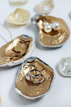 Huitres à bijoux DIY