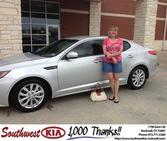 #HappyBirthday to Barbara Perry from Kathy Parks at Southwest KIA Rockwall!