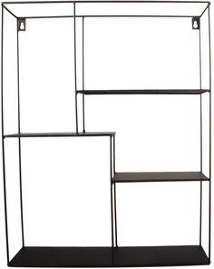 Minimalistinen FORM Living -seinähylly, jossa lapsesi lempiesineet pysyvät järjestyksessä. Metallinen hylly sopii niin lastenhuoneeseen kuin kodin muihinkin huoneisiin. Saatavissa kahdessa eri koossa.<br><br>Mitat: 40 x 11 x 50 cm.<br><br>Materiaali: Metallia.<br><br>Kiinnitys: Yläreuna.<br><br>Väri: Musta.