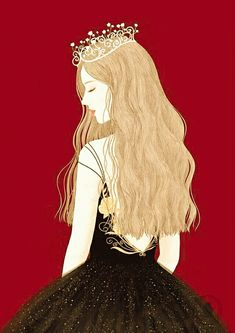 Girl Cartoon, Beauty Background, Girly Pictures, Cute Art, Fairytale Illustration, Art Girl, Illustration Girl, Cute Drawings, Digital Art Girl