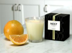 Grapefruit: Pink pomelo grapefruit and watery green nuances are blended with lily of the valley and coriander blossom. #home #fragrance