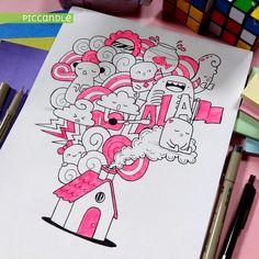 House Doodle by PicCandle.deviantart.com on @DeviantArt
