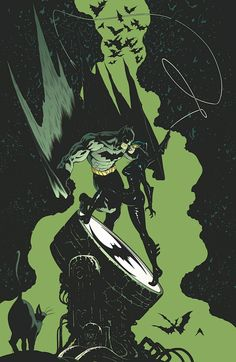 Batman and Catwoman #22 cover by Patrick Gleason & Mick Gray