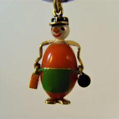 Charm Jewelry, Jewlery, Birmingham Uk, All Craft, Concierge, Black Enamel, Ruby Lane, 1930s, Charms