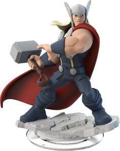 Figurine Disney Infinity 2.0 : Marvel Super Heroes - Thor: Amazon.fr: Jeux vidéo