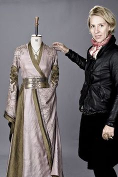 Excellent interview in the LA Times with Michelle Clapton, the costume designer for Game of Thrones.