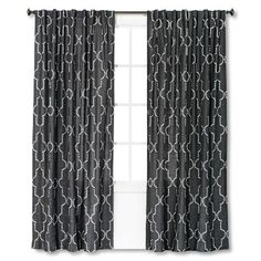 Threshold™ Dot Lattice Curtain Panel  Office - 6 Panles Needed