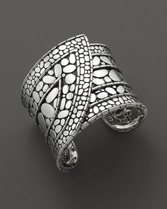 "John Hardy ""Kali"" strap sterling silver cuff bracelet"