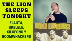 """The Lion Sleeps Tonight"" de The Tokens con flauta dulce y ukelele (incluye notas y acordes)"