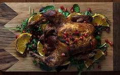 Christmas spiced roast chicken by Greek chef Akis Petretzikis! Make this recipe for a delicious roast chicken, a perfect holiday dish for the Christmas table. Good Food, Yummy Food, Roast Chicken Recipes, Greek Cooking, Spices, Pork, Food And Drink, Beef, Dishes