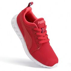 63e11f3e2cacac Style meets performance in these PUMA Carson Runner running shoes.