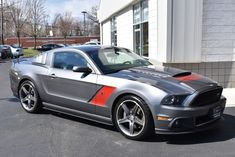 For Sale: 2014 Ford Mustang GT Roush Stage 3 (supercharged miles) Roush Stage 3, Sterling Grey, 2014 Ford Mustang, Sport Seats, Classic Cars Online, Manual Transmission, Leather Interior, Mercedes Benz, Black Leather