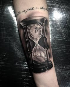 Forarm Tattoos, Elbow Tattoos, Best Sleeve Tattoos, Watch Tattoos, Time Tattoos, Body Art Tattoos, Rib Tattoos For Guys, Weird Tattoos, Husband Tattoo