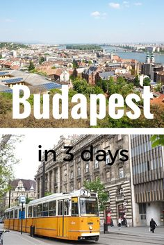 A THREE DAY ITINERARY FOR BEAUTIFUL BUDAPEST. Visit Hungary in the summer to see Budapest in all its glory. Find a full 3 day itinerary on While I'm Young and Skinny travel blog.