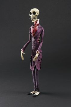 Rhett Butler Stop-Motion Puppet From Corpse Bride