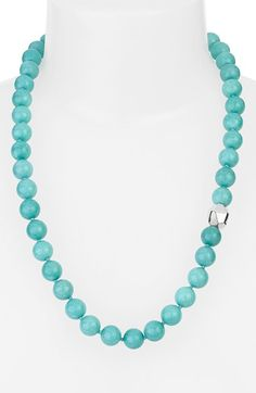 Simon Sebbag Stone Beaded Necklace available at #Nordstrom