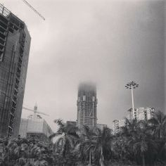 Ping An in the clouds … #shenzhen #architecture