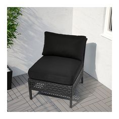 IKEA KUNGSHOLMEN one-seat section, outdoor