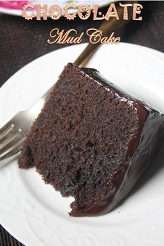 This is a recipe which i wanted to bake so badly..This recipe is exactly made from bake like a pro  famous chocolate mud cake video. I ...