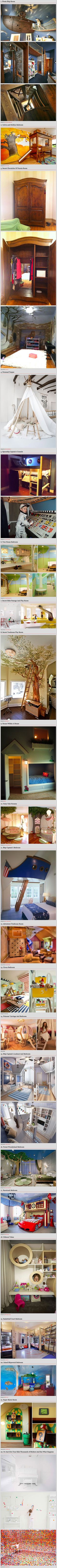 22 Cool and Creative Room Designs That Geeky Kids Would Love - TechEBlog