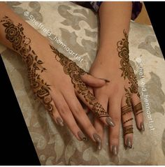 Henna Floral Henna Designs, Finger Henna Designs, Basic Mehndi Designs, Arabic Henna Designs, Mehndi Designs For Beginners, Mehndi Designs For Fingers, Mehndi Design Images, Latest Mehndi Designs, Henna Tattoo Designs