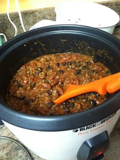 Rice Cooker Recipe: Chicken Chili Recipe