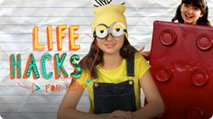 Visit Epic to watch Minion and Lego Costume Hacks