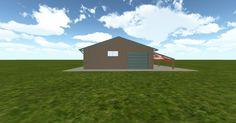 3D #architecture via @themuellerinc http://ift.tt/2wxWuVK #barn #workshop #greenhouse #garage #DIY