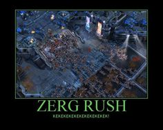 I loved rushing in sc1, haven't played much zerg in sc2. #Starcraft #Geek
