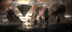 anomaly by Alwyn Talbot   Sci-Fi   2D   CGSociety