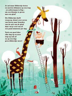 Aan de muur - S A L E P o ë z i e p o s t e r s - poëzieposter met gedicht Kuren van Frank Eerhart Giraffe Illustration, Giraffe Pictures, Learn Dutch, Poetry Journal, Classroom Quotes, Dutch Quotes, Quotes And Notes, Creative Teaching, Zoo Animals