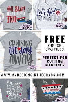 Free Cruise SVG Files - My Designs In the Chaos Source by slblanchat Look t-shirt Cruise Tips, Cruise Travel, Cruise Vacation, Disney Cruise, Disney Trips, Vacation Ideas, Vacation Pictures, Vacation Destinations, Vacation Humor