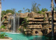 Alfa img - Showing > Faux Rock Waterfalls