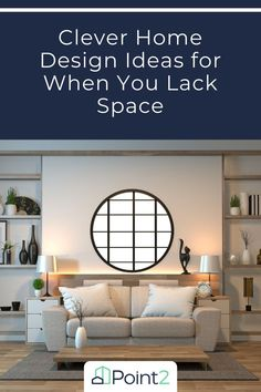 The struggle is real when it comes to finding ways to maximize storage, stay organized, and still have a cute and clutter-free home. Here are our four favorite ways to give yourself more space while making your home look beautiful. Home Design Decor, House Design, Home Decor, Small Space Living, Small Spaces, Coffee Table With Drawers, Clutter Free Home, Small Space Storage, Compact Living